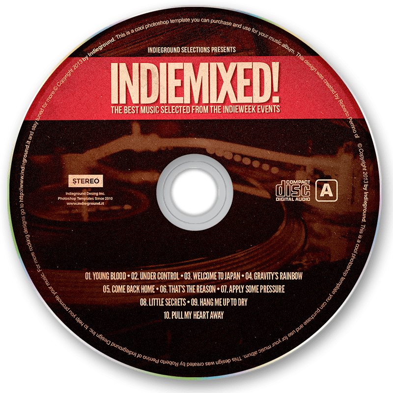 indieproduct_indievol1_album_disk_main